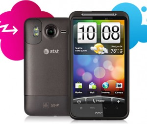 HTC inspire 4g cellphones