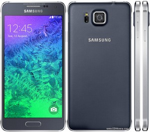 Samsung Galaxy Alpha cellphone review
